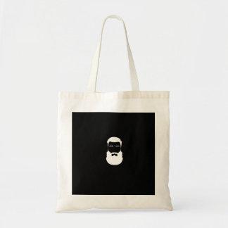 白いひげの予算のトート トートバッグ
