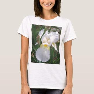白いアイリス Tシャツ
