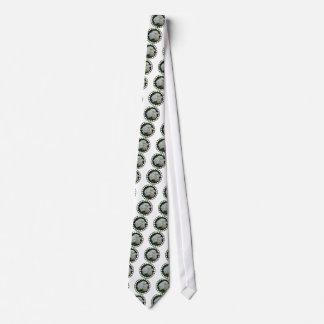 白いアジサイのネクタイ ネクタイ