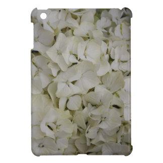 白いアジサイの植物のiPad Miniケース iPad Miniケース