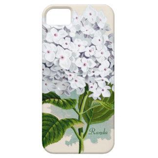 白いアジサイのiPhone 5の箱 iPhone 5 Case