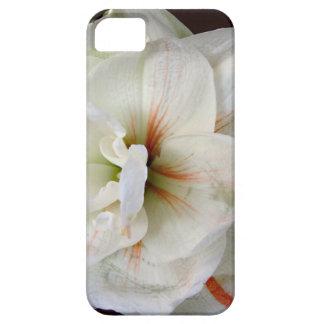 白いアマリリス iPhone SE/5/5s ケース