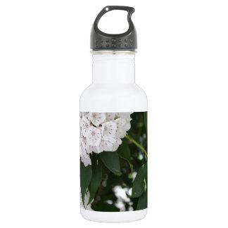 白いアメリカ・シャクナゲの星形の花 ウォーターボトル
