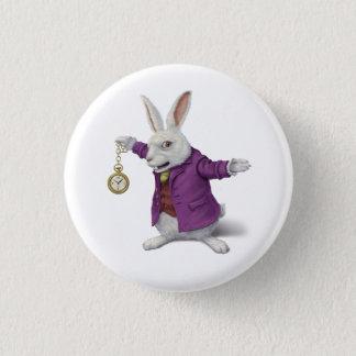 白いウサギのバッジ 缶バッジ