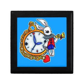 白いウサギの壊中時計 ギフトボックス