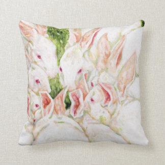 白いウサギの枕 クッション
