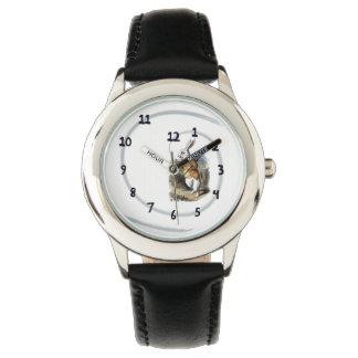 白いウサギの腕時計 腕時計