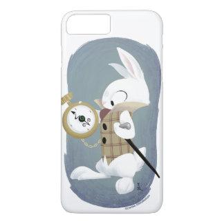 白いウサギのiPhone 7plusの箱 iPhone 8 Plus/7 Plusケース