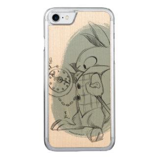 白いウサギのiPhone Carved iPhone 8/7 ケース