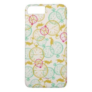 白いウサギパターン iPhone 8 PLUS/7 PLUSケース