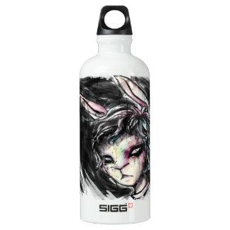 白いウサギ ウォーターボトル