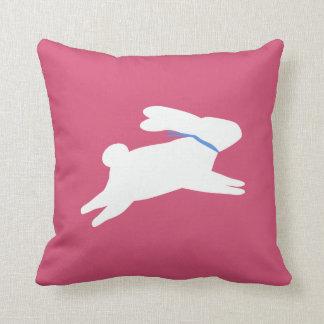 白いウサギ クッション
