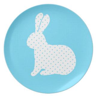 白いウサギ プレート