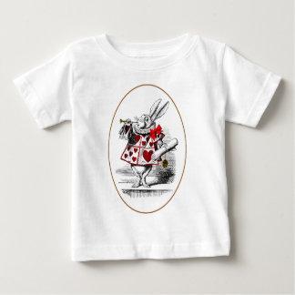 白いウサギ ベビーTシャツ