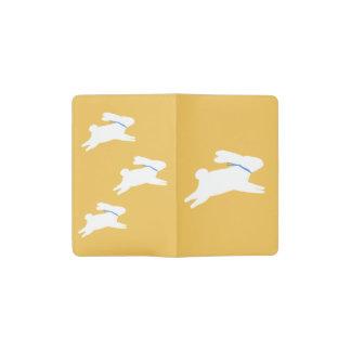 白いウサギ ポケットMoleskineノートブック