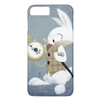 白いウサギ(色彩の鮮やかな完全)のiPhoneの箱 iPhone 8 Plus/7 Plusケース