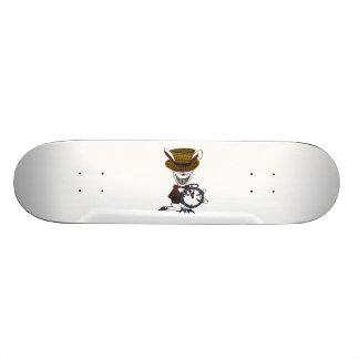 白いウサギ 20CM スケートボードデッキ