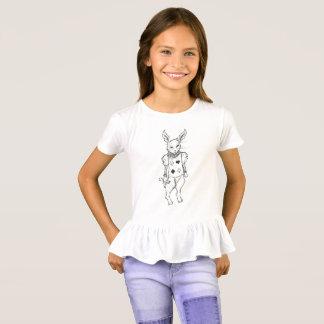 白いウサギ Tシャツ