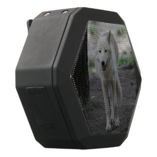白いオオカミ ブラックBluetoothスピーカー