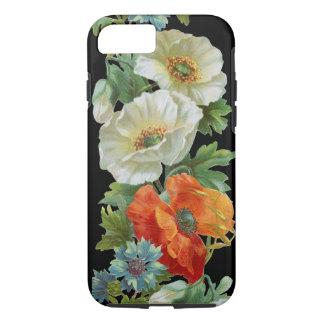 白いオレンジケシのヴィンテージの芸術のiPhone 7の箱 iPhone 7ケース