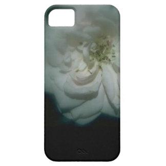 白いカーネーション- iPhone 5 カバー
