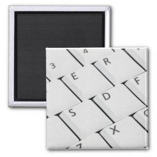 白いキーボードボタン マグネット