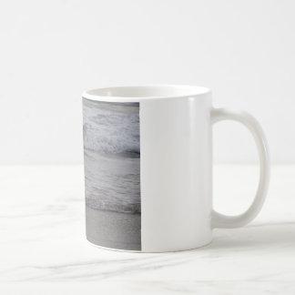白いクレーン コーヒーマグカップ