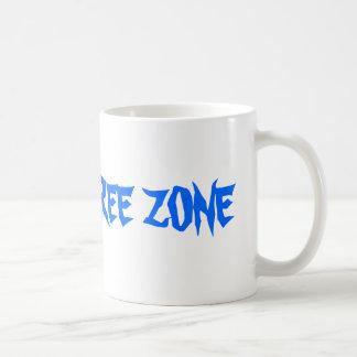白いグルテンの自由なコーヒー・マグ コーヒーマグカップ