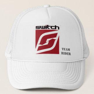 白いスイッチトラック運転手の帽子 キャップ