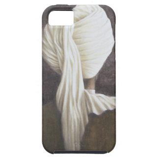 白いターバン2005年 iPhone SE/5/5s ケース