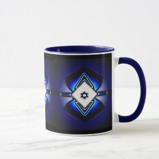 白いダイヤモンドのマグ マグカップ