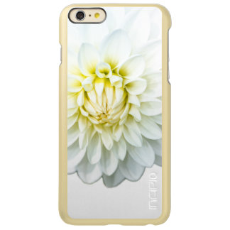 白いダリア INCIPIO FEATHER SHINE iPhone 6 PLUSケース