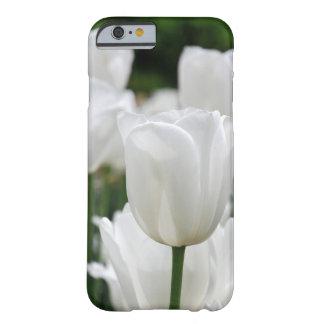 白いチューリップの庭 BARELY THERE iPhone 6 ケース