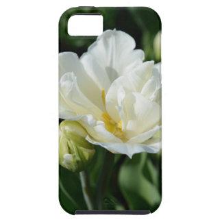 白いチューリップ iPhone SE/5/5s ケース
