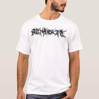 白いテーマ Tシャツ