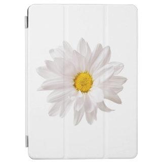 白いデイジーの花のデザインの花のデイジーのテンプレート iPad AIR カバー