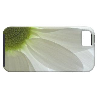 白いデイジーの花びらのiPhone 5の穹窖 iPhone SE/5/5s ケース