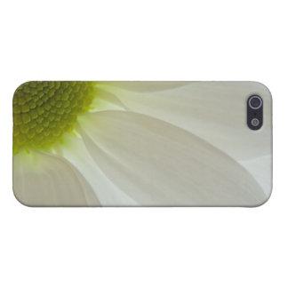 白いデイジーの花びら iPhone 5 カバー