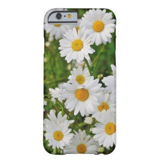 白いデイジーの電話箱 BARELY THERE iPhone 6 ケース