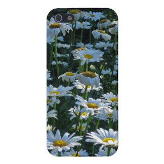 白いデイジー iPhone 5 COVER