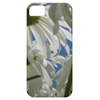 白いデイジー iPhone SE/5/5s ケース