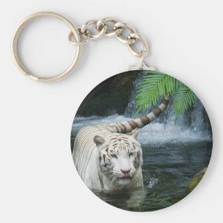 白いトラ水 キーホルダー