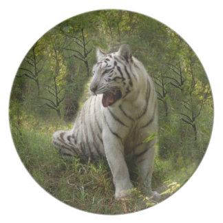 白いトラ020 プレート