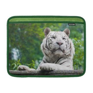 """白いトラ13"""" MacBookの袖 MacBook スリーブ"""