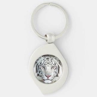 白いトラ キーホルダー