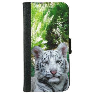 白いトラ iPhone 6/6S ウォレットケース