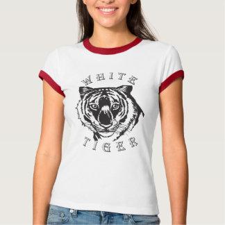 白いトラ Tシャツ