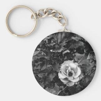 白いバラのコレクション キーホルダー
