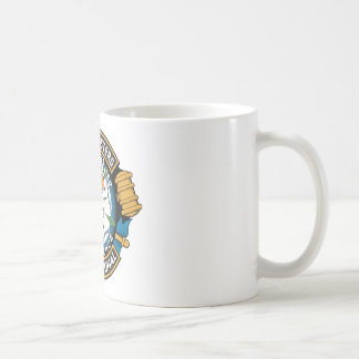白いバラの会議 コーヒーマグカップ