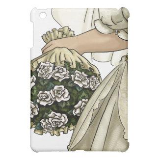 白いバラの花嫁 iPad MINIケース